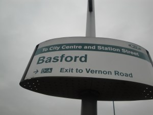 Basford Tram Stop
