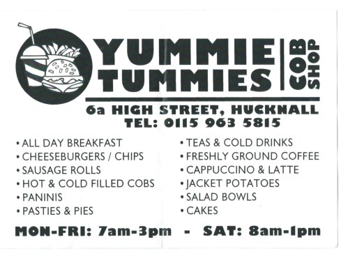 Yummie Tummies Flyer