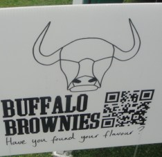 Buffal Brownies Sign