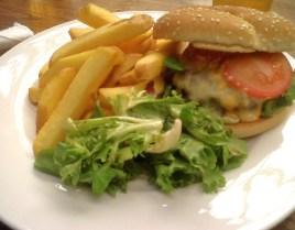 Malt Cross Beef Burger with Cheddar