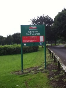 Edwalton GC Entrance