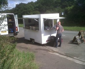Gourmet Grill Van on A606