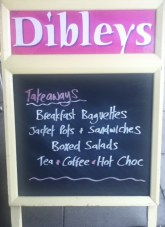 Dibleys Chalk Board