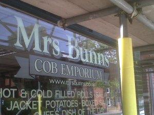 Mrs Bun's Cob Emporium