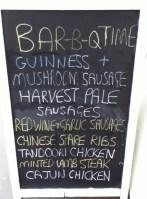 Ruddington Village Butchers Chalkboard
