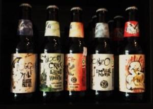 Flying Dog Beers