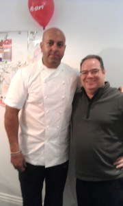 One of the Nottingham Food Blog highlights of the month was meeting Sat Bains at the EON Open House at a cooking demonstration