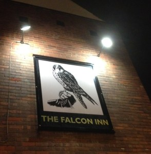 Falcon Inn Sign
