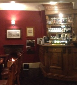 Inside the Falcon Inn