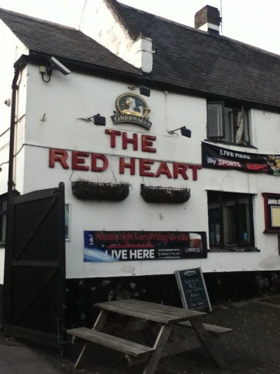The Red Heart in Ruddington