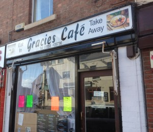 Gracies Cafe in Ruddington