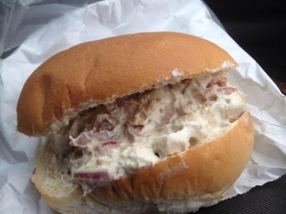 Chicken Bacon Mayo Bap