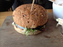 Burger at Oscars