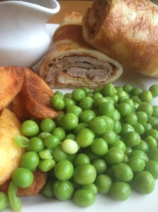 roast beef yorshire wrap