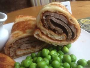 Roast Beef Yorshire Pudding Wrap
