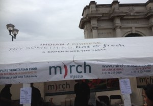 Mirch indian food stall