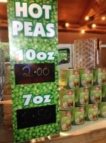 Hot Peas stall