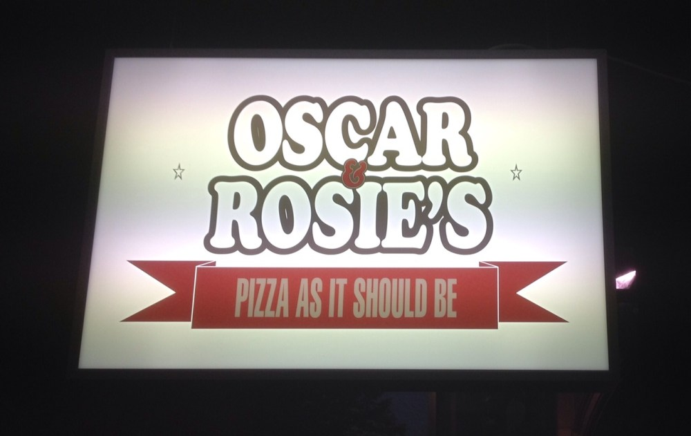 Oscar and Rosies |Sign