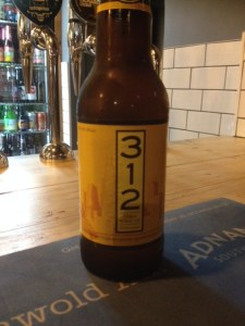 Bottle of 312 at Annie's