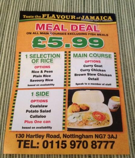 taste the flavour leaflet