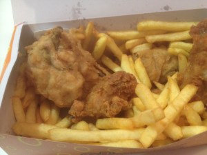 Chunky Chicken Combo Box