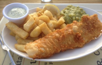 Fish and Chips from Harry Wheatcrofts