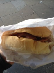 Bacon Cob at the Pop Inn