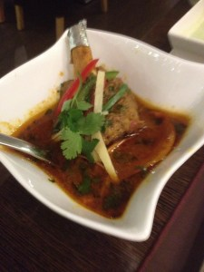 Braised Lamb Shank Curry