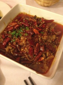 Spicy Pork at Dancing Dragon