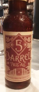 5 Barrel Amber Ale from Odell