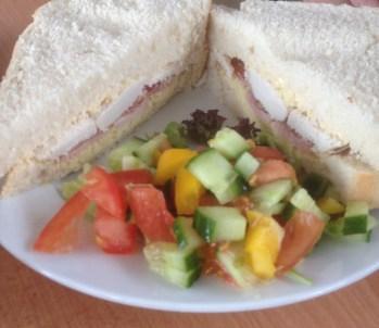 Sandwich at Attenborough Nature Reserve