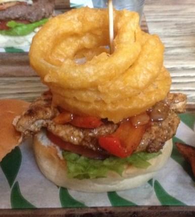 The Bob Marley Burger