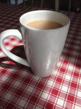 Mug of Tea at the Jukebox Cafe