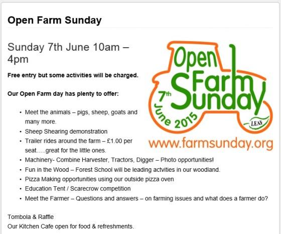 Open Farm Day Screveton