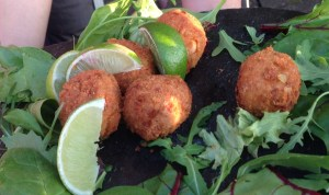 Crabcakes at Homemade Cafe