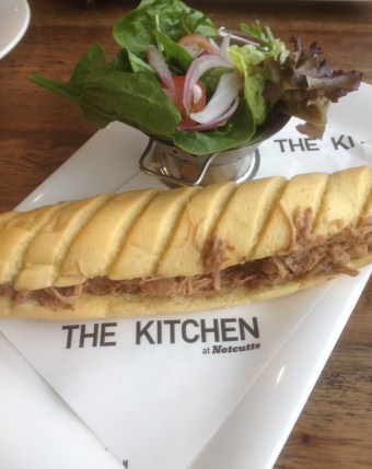 Pulled Pork Baguette at NottCutts