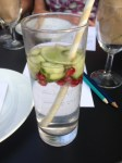 Homemade Cafe Cocktail Gin and Elderflower