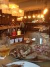Inside Oaks Restaurant in Nottingham