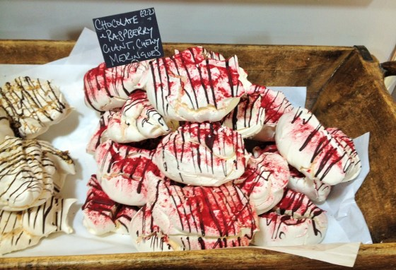 Boutique Aromatique Meringue at Wwelbeck farmshop