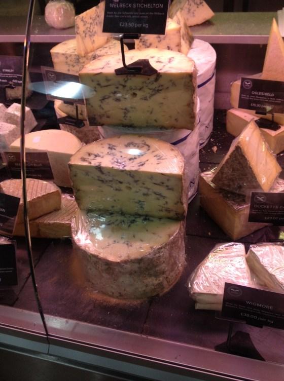 Cheese Counter at Welbeck Farm Shop