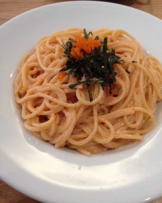 Mentiako Pasta at Time Out Cafe