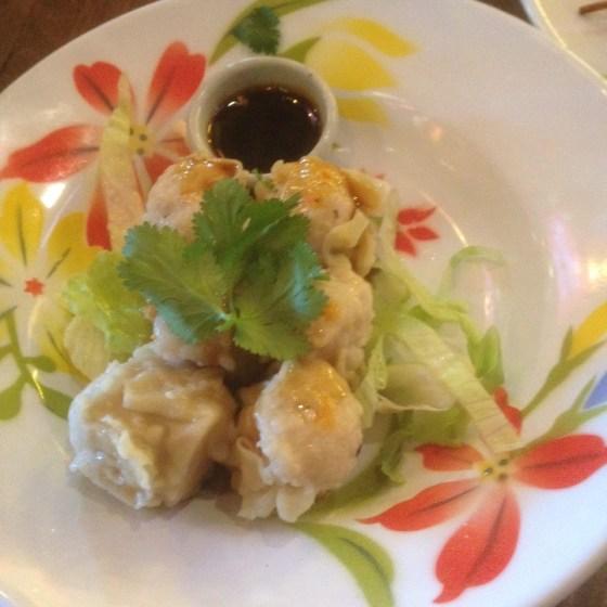 Dumplings at Zaap