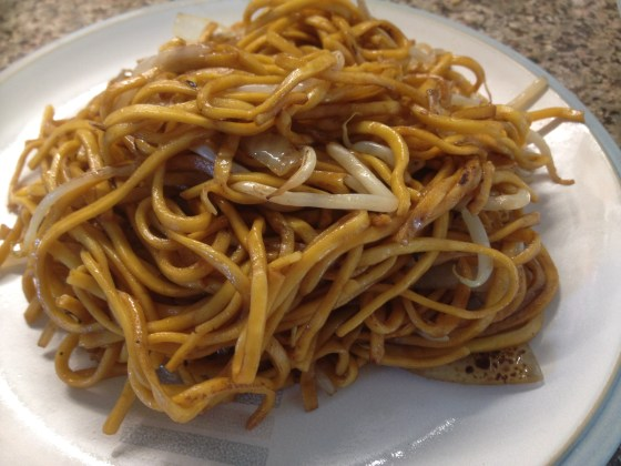 Chow Mein Noodles from Chopstick House