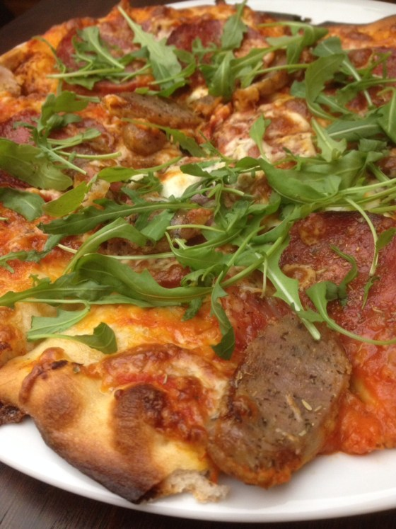 Sauasage Fest Pizza