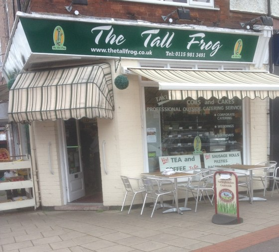 The Tall Frog in West Bridgford