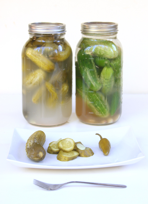 This the original recipe for my husband's grandfather' lactofermented pickles! They are the easiest lacto fermented pickles you will ever make! And some of the best! It seems that the recipe works best made in a 1/2 gallon canning jar. Great for your gut health! - By The Nourished Caveman