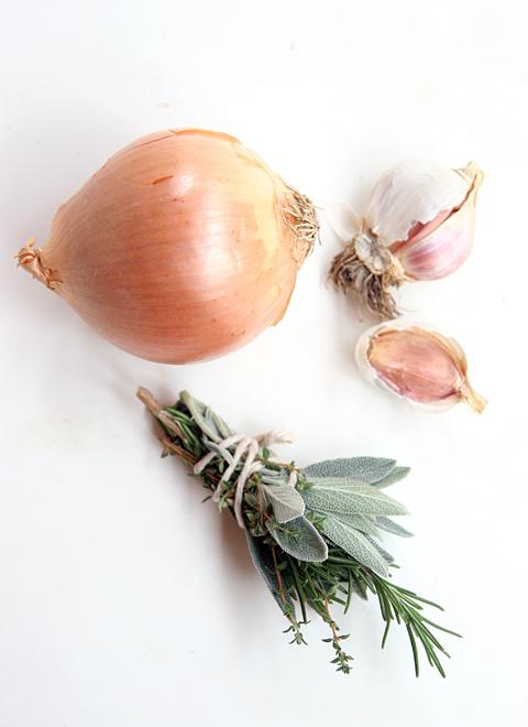 Chicken Feet Stock Ingredients