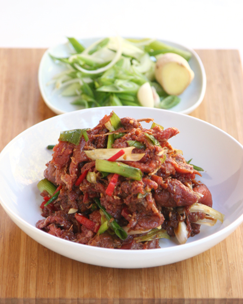 Paleo Bulgogi ingredients