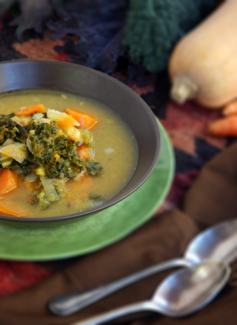Farmers Market Winter Soup Side