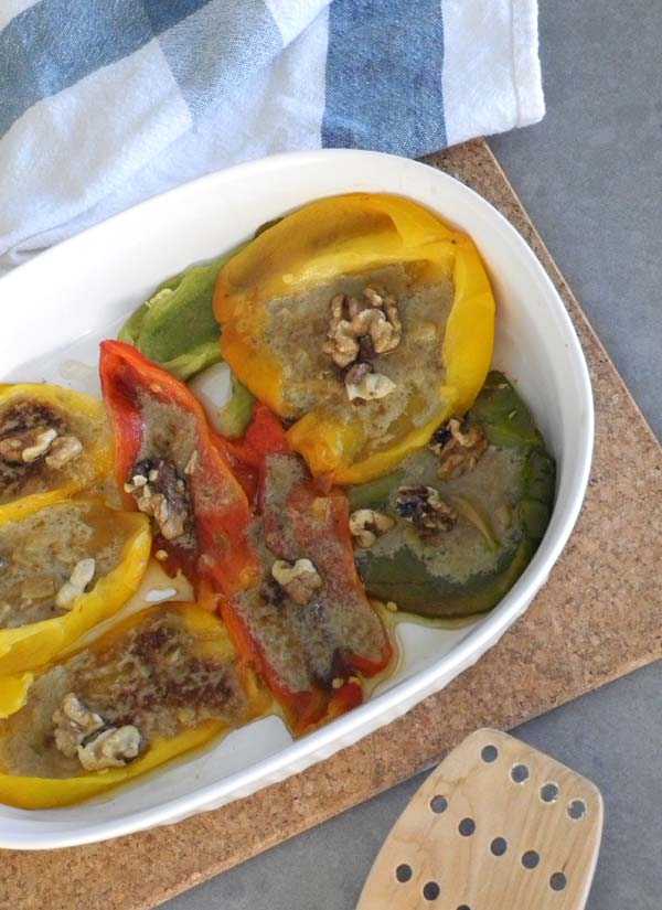 Paleo Stuffed Peppers by The Nourished Caveman Serving